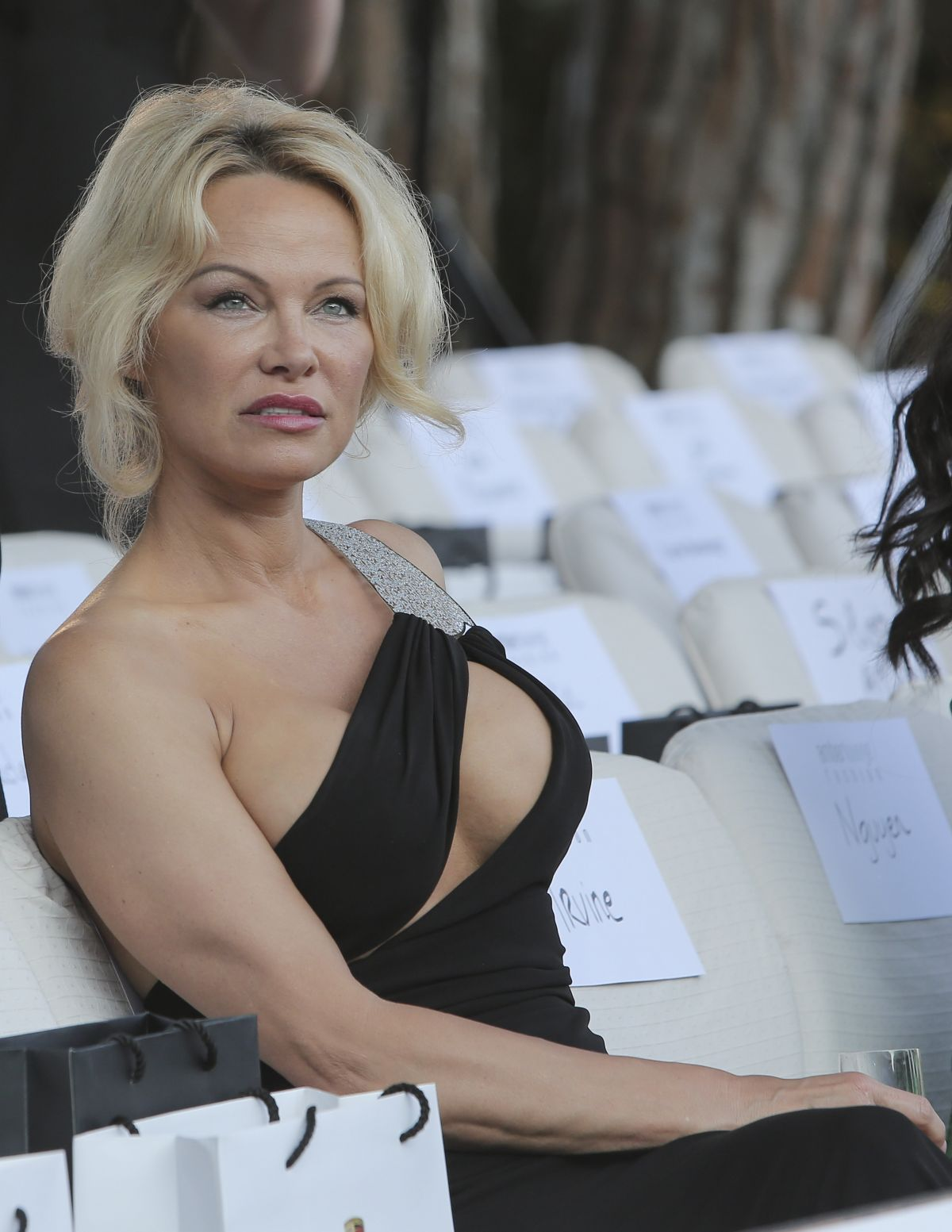 PAMELA ANDERSON at Amb... Pamela Anderson