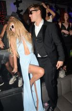 PARIS HILTON and Chris Zylka at Akon Concert in Cannes 05/20/2017