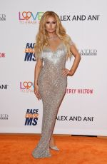 PARIS HILTON at 24th Annual Race to Erase MS Gala in Beverly Hills 05/05/2017