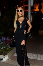 PARIS HILTON at L'Oreal 20th Anniversary Party at Cannes Film Festival 05/24/2017