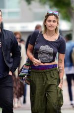 PARIS JACKSON and Tom Hamilton Out in Los Angeles 05/25/2017
