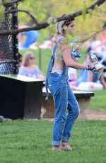 PARIS JACKSON at Central Park in New York 04/29/2017