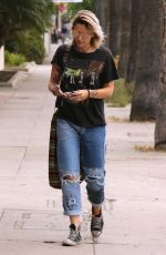 PARIS JACKSON in Ripped Jeans Out in Los Angeles 05/09/2017