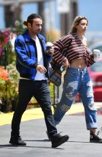 PARIS JACKSON Out for Coffee at Starbucks in Malibu 05/17/2017