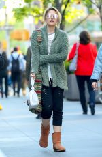 PARIS JACKSON Out for Lunch in New York 05/04/2017