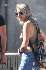 PARIS JACKSON Out in West Hollywood 05/28/2017