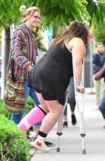 PARIS JACKSON Out with Friends in Beverly Hills 05/06/2017
