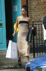 PEARL MCKIE Leaves Saturday Kitchen TV Show in London 05/27/2017