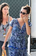 PENELOPE CRUZ Arrives on the Set of Versace: American Crime Story in Miami 05/16/2017