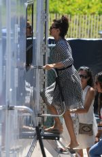 PENELOPE CRUZ Arrives on the Set of Versace: American Crime Story in Miami 05/17/2017