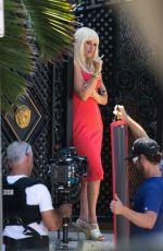 PENELOPE CRUZ on the Set of Versace: American Crime Story in Miami 05/17/2017