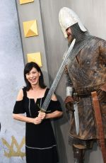 PERREY REEVES at King Arthur: Legend of the Sword Premiere in Hollywood 05/08/2017