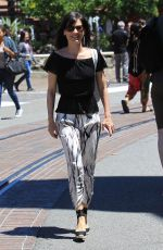 PERREY REEVES Out Shopping at The Grove in Los Angeles 05/20/2017