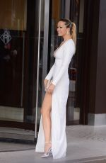 PETRA NEMCOVA Arrives at Grand Hyatt Cannes Hotel Martinez in Cannes 05/18/2017