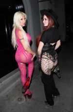 PHOEBE PRICE and ANGELIQUE MORGAN at Craig
