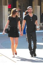 PHOEBE TONKIN and Paul Wesley at The Grove in West Hollywood 05/02/2017