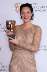 PHOEBE WALLER-BRIDGE at 2017 British Academy Television Awards in London 05/14/2017
