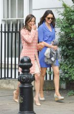 PIPPA MIDDLETON Leaves Church Service in London 05/07/2017