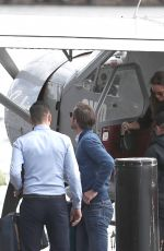 PIPPA MIDLETON and James Matthews Departing a Seaplane in Sydney 05/31/2017
