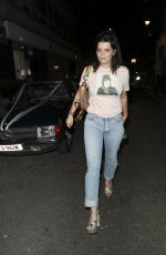 PIXIE GELDOF Arrives at Alexa Chung Launch Party in London 05/30/2017