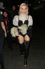PIXIE LOTT Night Out in London 05/06/2017