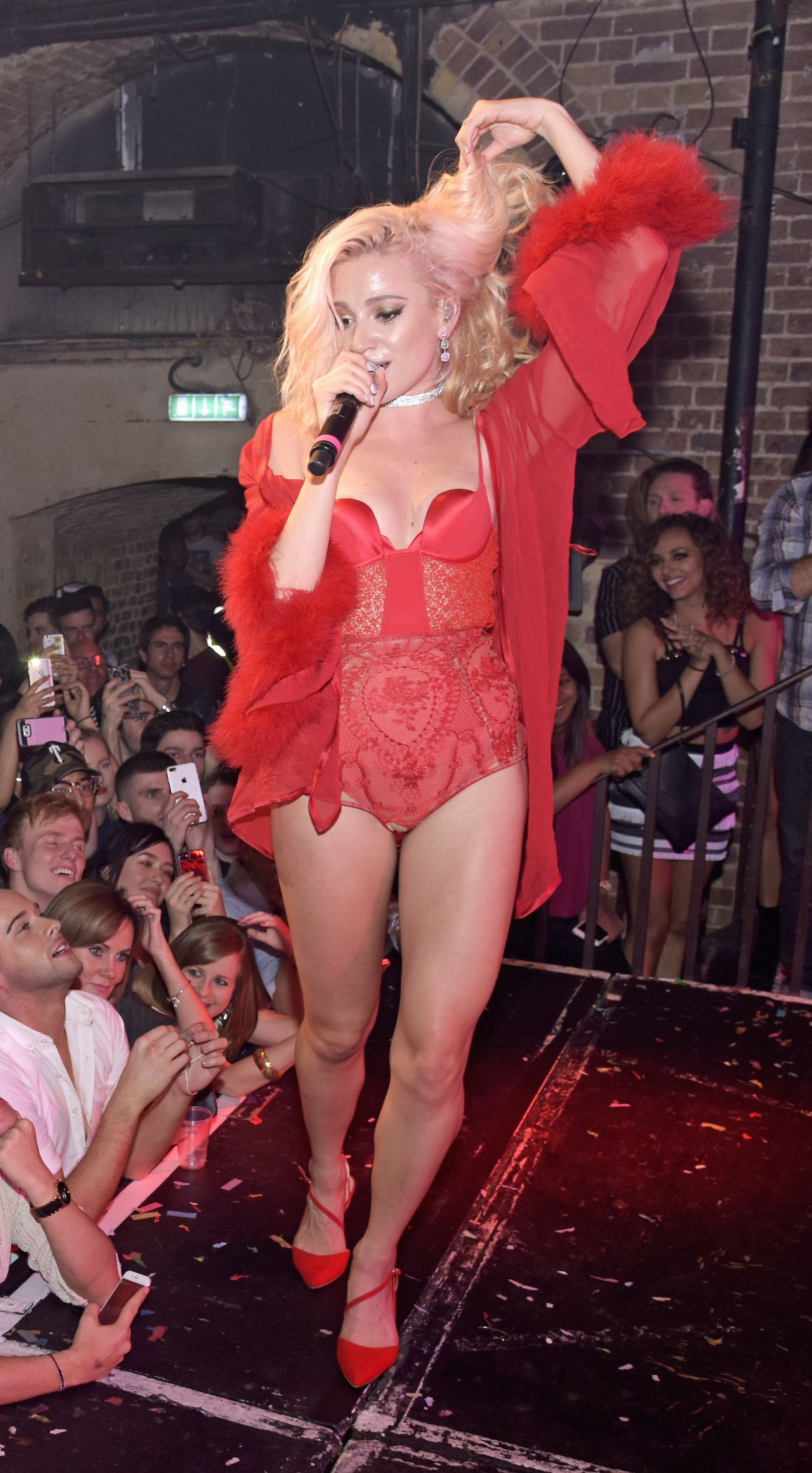 PIXIE LOTT Performs at g-A-Y at Heaven Nightclub in London 05/07/2017