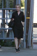 PORTIE DE ROSSI Leaves Her Office in Los Angeles 05/25/2017