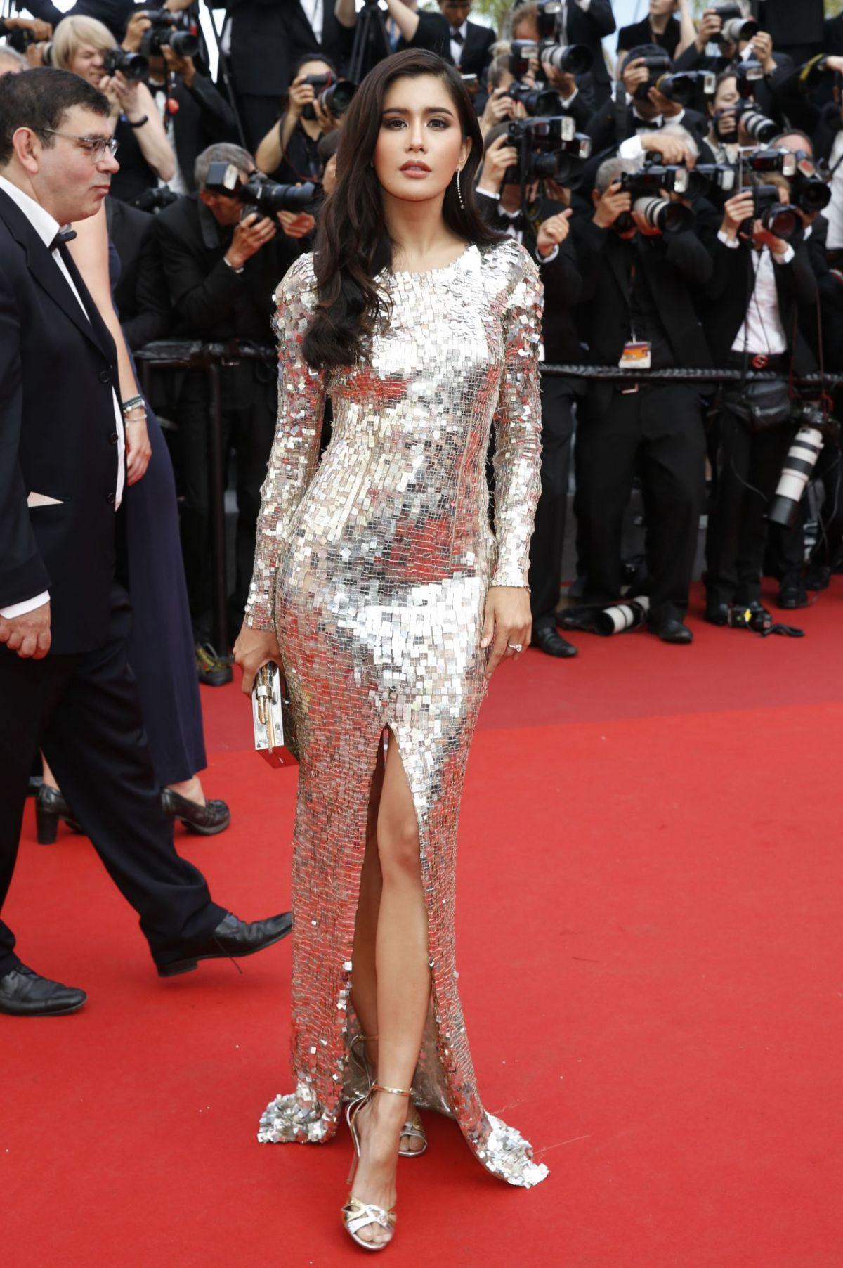 PRAYA LUNDBERG at Anniversary Soiree at 70th Annual Cannes Film Festival 05/23/2017