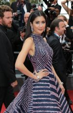 PRAYA LUNDBERG at The Double Lover Premiere at 70th Annual Cannes Film Festival 05/26/2017