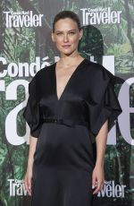 Pregnant BAR REFAELI at Conde Nast Awards in Madrid 05/04/2017