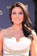 Pregnant NADIA BJORLIN at 44th Annual Daytime Emmy Awards in Los Angles 04/30/2017