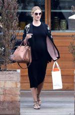 Pregnant ROSIE HUNTINGTON-WHITELEY at Soho House in Malibu 05/07/2017