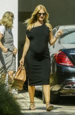 Pregnant ROSIE HUNTINGTON-WHITELLEY Out in Beverly Hills 05/22/2017
