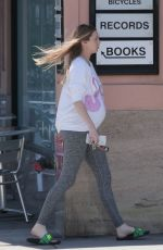 Pregnant WHITNEY PORT Out for Grocery Shopping in Los Angeles 05/16/2017