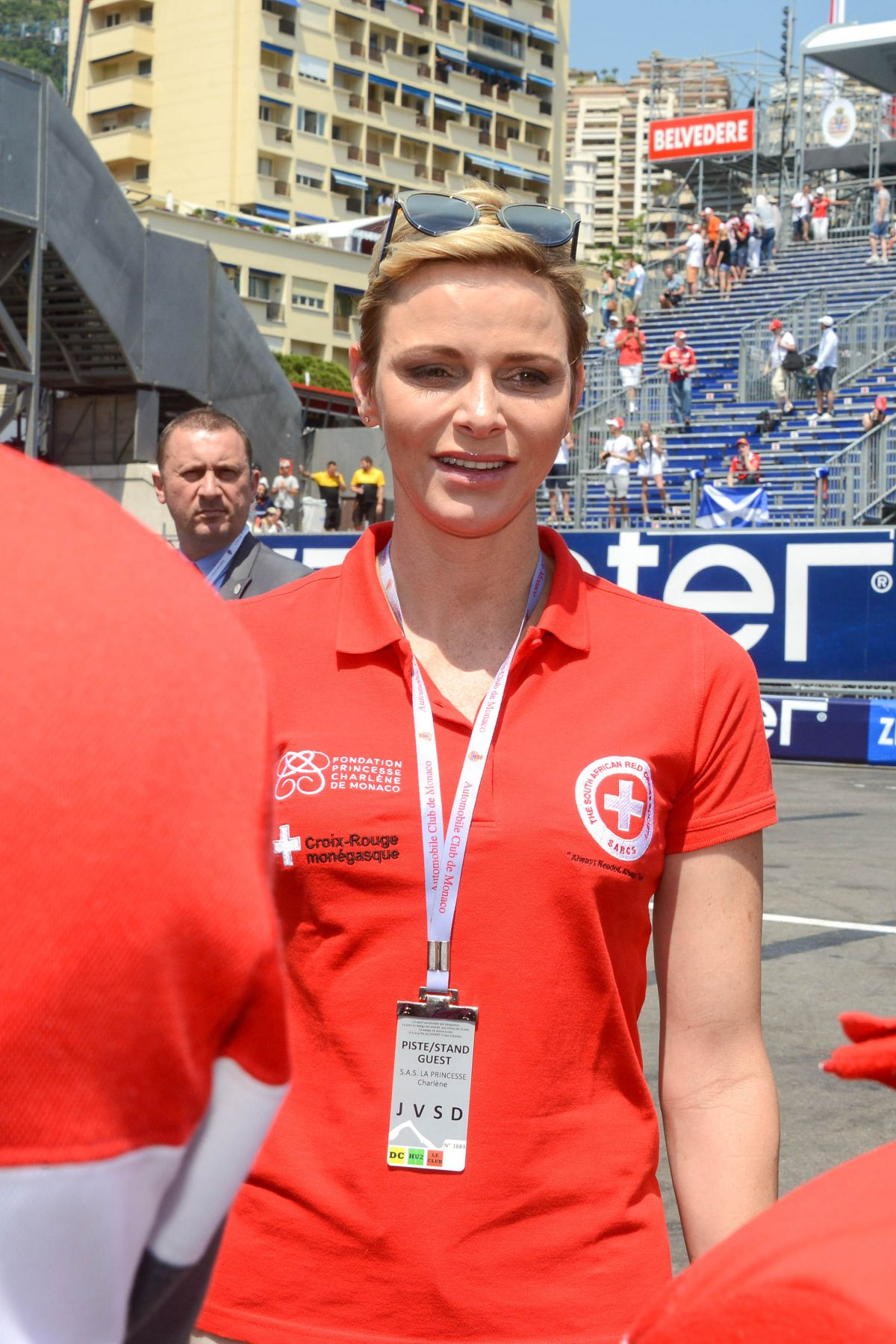 PRINCESS CHARLENE at Monaco Formula One Grand Prix 05/27/2017