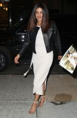 PRIYANKA CHOPRA Arrives at Watch what Happens Live in Los Angeles 05/16/2017