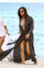 PRIYANKA CHOPRA at a Beach in Miami Beach 05/14/2017