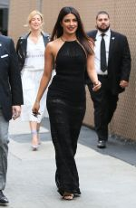 PRIYANKA CHOPRA at Jimmy Kimmel Live in Los Angeles 05/09/2017