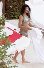 PRIYANKA CHOPRA in Bikini at Her Hotel Pool in Miami 05/15/2017