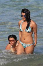 PRIYANKA CHOPRA in Bikini on the Beach in Miami 05/15/2017
