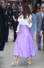 PRIYANKA CHORA Arrives at God Morning America in New York 05/22/2017