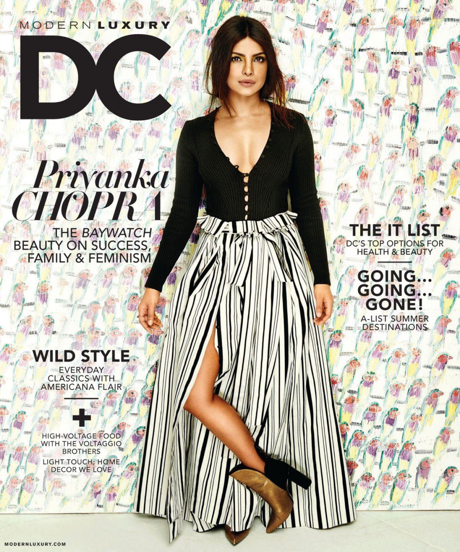 PRIYANKA CHPOPRA in Modern Luxury Magazines, May 2017