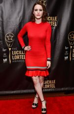 RACHEL BROSNAHAN at 32nd Annual Lucille Lortel Awards in New York 05/07/2017