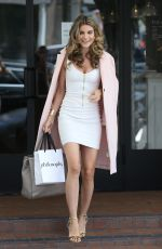 RACHEL MCCORD Leaves Fig & Olive Restaurant in West Hollywood 05/17/2017