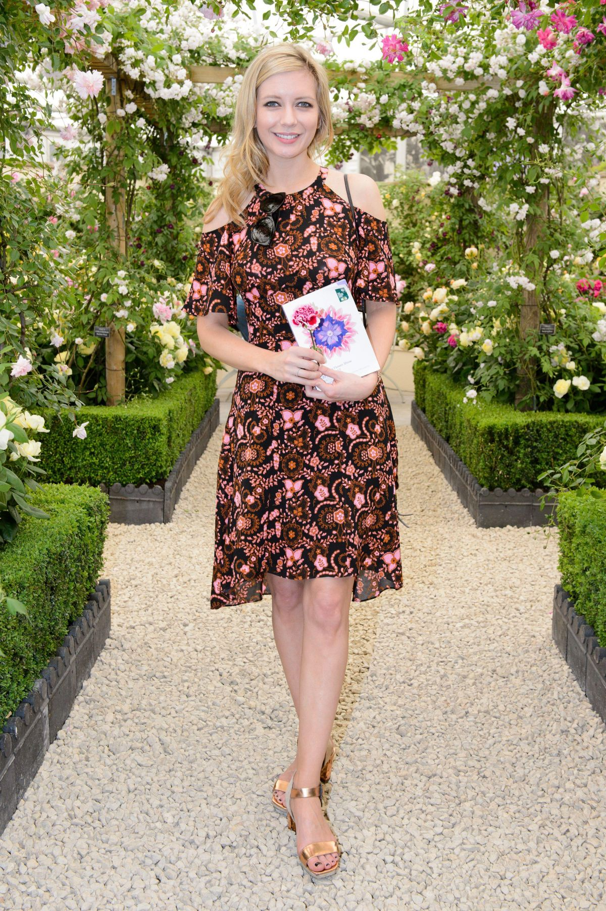 RACHEL RILEY at 2017 RHS Chelsea Flower Show in London 05/22/2017