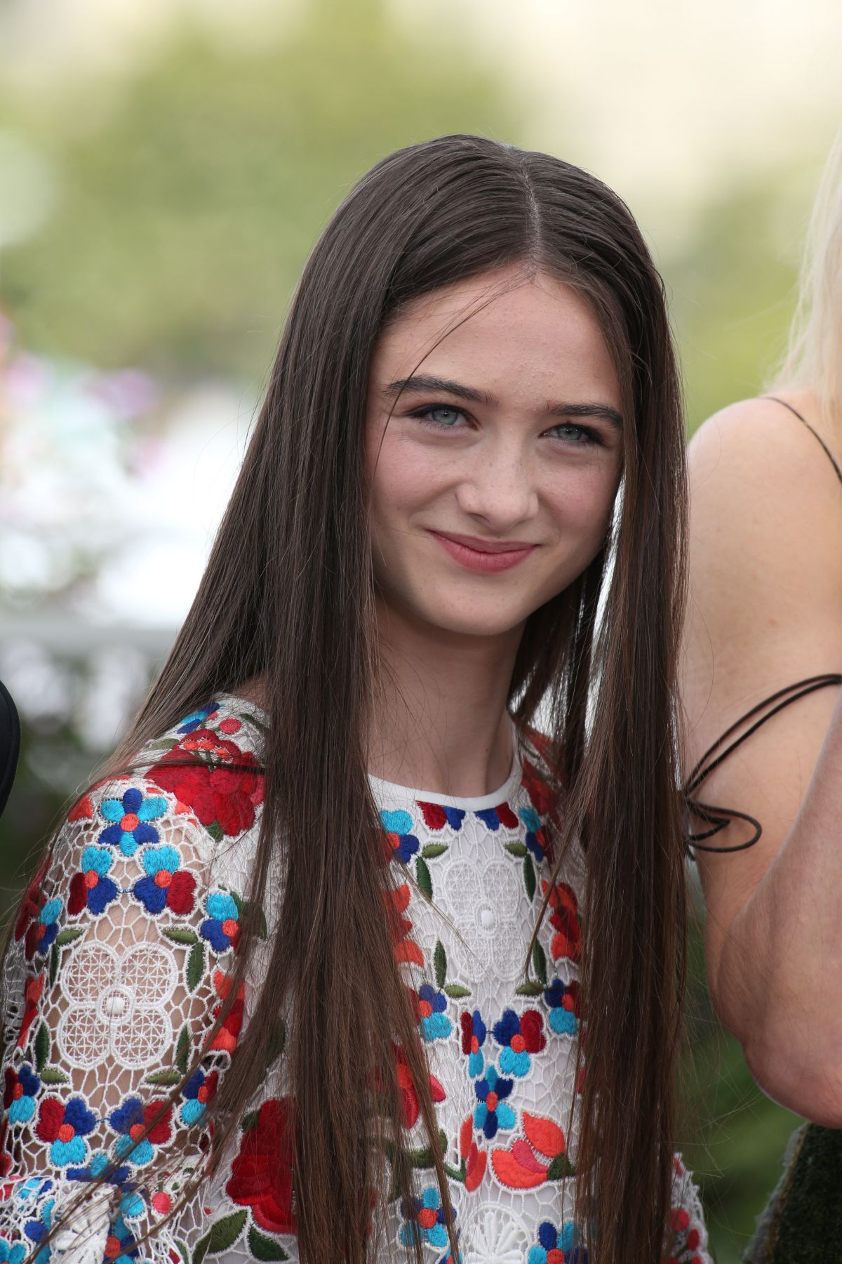 RAFFEY CASSIDY at The Killing of a Sacred Deer Photocall