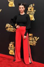 REBECCA BLACK at 2017 MTV Movie & TV Awards in Los Angeles 05/07/2017