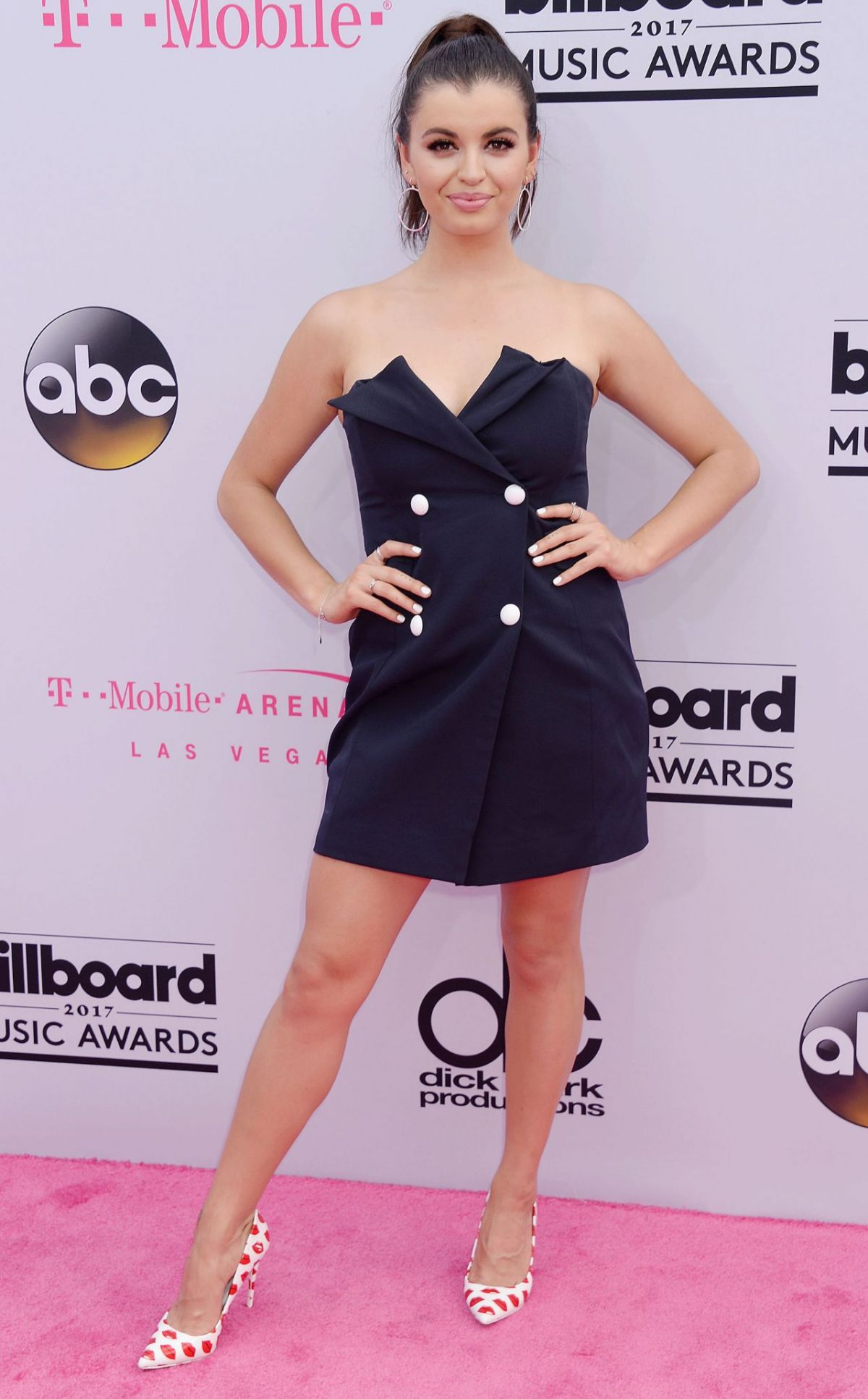 REBECCA BLACK at Billboard Music Awards 2017 in Las Vegas 05/21/2017