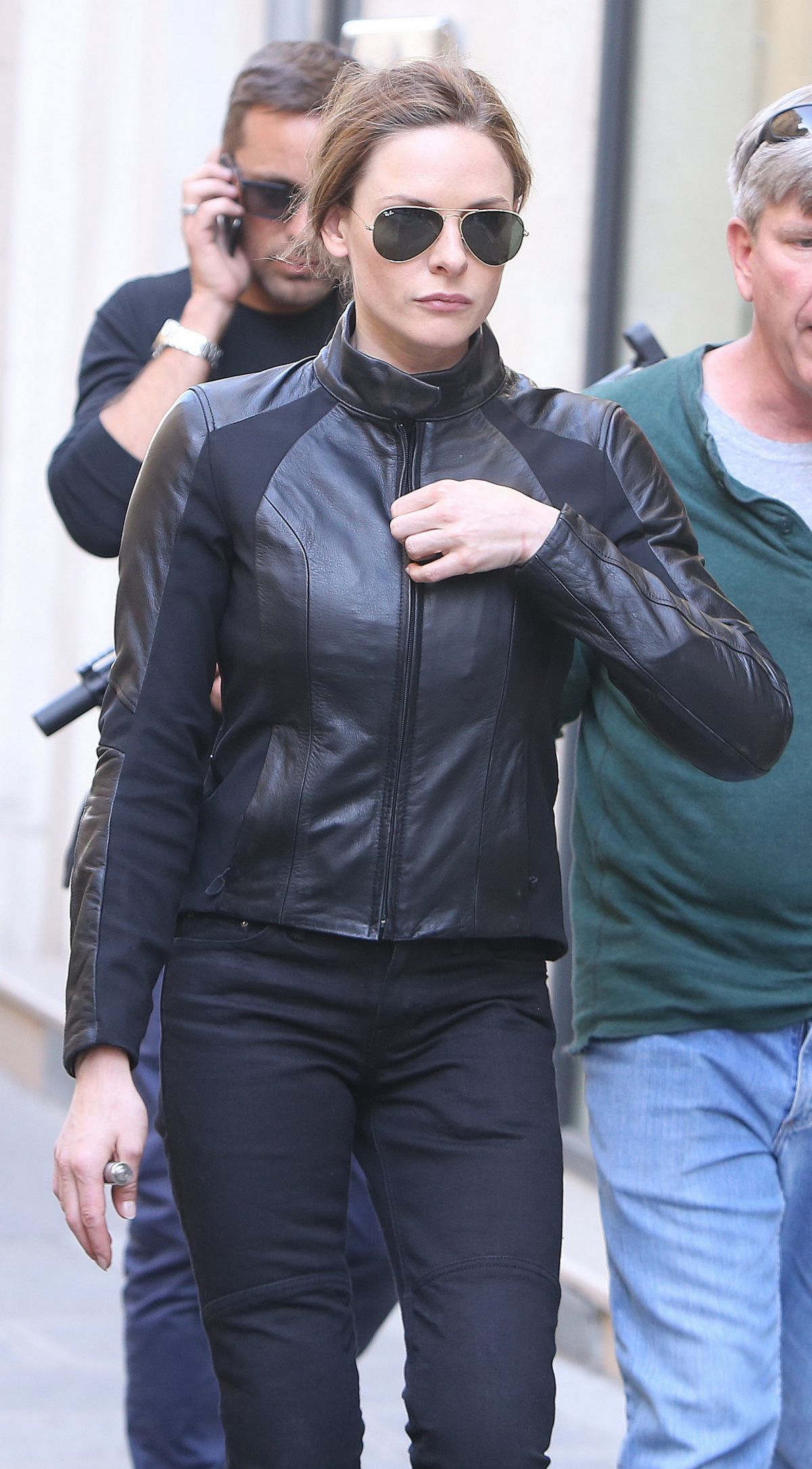 REBECCA FERGUSON Leaves Mission Impossible 6 Shooting in ...