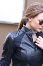 REBECCA FERGUSON Leaves Mission Impossible 6 Shooting in Paris 05/10/2017
